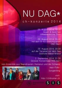 Flyer Nu Dag 2014